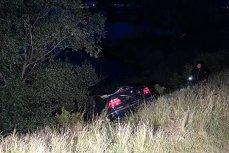 Tragedie la Arad. Două tinere au murit după ce au plonjat cu maşina într-un lac