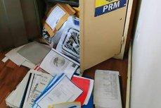 Sediul central al PRM a fost jefuit la comandă. Hoţii au sustras documente importante