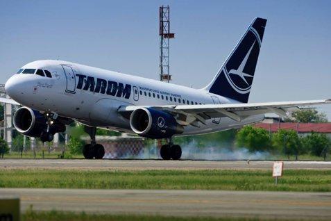 Un avion Tarom s-a întors din zborul către Salonic după 10 minute, din cauza unor posibile defecţiuni tehnice