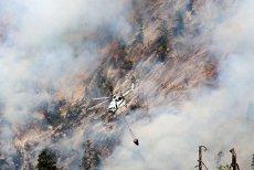 Un incendiu a izbucnit sâmbătă în Parcul Naţional Domogled – Valea Cernei, Caraş-Severin, într-o zonă inaccesibilă pompierilor. Intervenţie elicopter