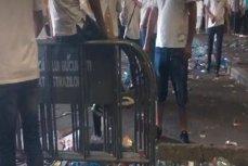 Piaţa Victoriei a fost curăţată de muncitorii primăriei după mitingul PSD