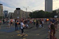 Protest #CoruptiaUcide în Piaţa Victoriei din Bucureşti