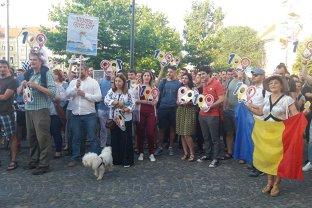 Protest la Cluj faţă de modificările Codului de procedură penală