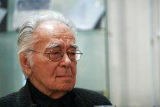Filosoful Mihai Şora susţine că a fost bruscat de jandarmi la protestele de miercuri seară