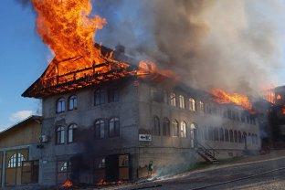 Incendiu Chilii Mănăstire Roşiori Suceava