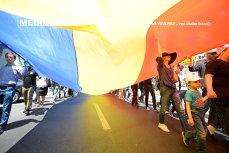 Restricţii pe Calea Victoriei din Capitală pentru un ceremonial organizat de Ziua Drapelului