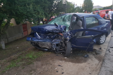 Accident Slătioara Pasager LIVE pe Facebook spera intervenţie Poliţie