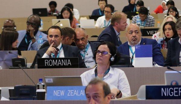 Ştefan Rab a reprezentat România la sesiunea UNESCO din Bahrein