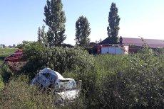 Accident microbuz lovit de tren Satu Mare şofer mort