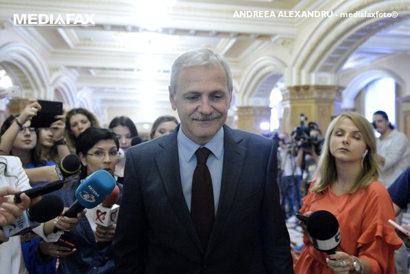 Liviu Dragnea, după ședința cu ceilalți lideri PSD