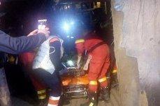 Un miner A MURIT într-un accident la mina Lupeni. Tavanul unei galerii S-A SURPAT