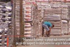 Cei doi suspecţi în cazul paznicilor OMORÂŢI în fabrica de ciment, sub CONTROL JUDICIAR