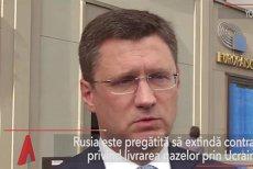 Rusia, pregătită să extindă contractul privind livrarea gazelor prin Ucraina