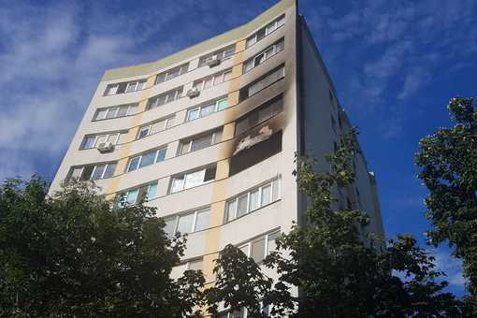 EXPLOZIE într-un bloc din Capitală, patru persoane rănite