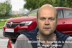 Renault Logan STEPWAY, un nou membru în familia franceză