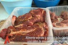 GÂNDACI şi alimente EXPIRATE, în bucătăria unui salon de evenimente din Mamaia