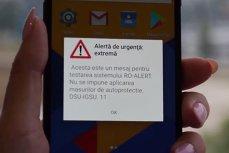 Portalul de avertizare ro-alert a fost LANSAT. ARAFAT: E pentru situaţiile grave. Nu vom folosi frecvent. Când începe TESTAREA NAŢIONALĂ