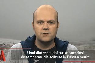 Un turist A MURIT în Munţii Făgăraş, din cauza temperaturilor scăzute
