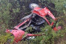 CARNAGIU în judeţul Cluj, după ce un şofer a intrat pe contrasens şi S-A IZBIT de altă maşină. Trei persoane AU MURIT şi două au fost rănite