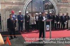 Incompetenţa FALIMENTEAZĂ România! Deputaţii dezbat moţiunea simplă a PNL împotriva ministrului ECONOMIEI