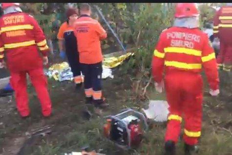 PATRU MORŢI după ce o maşină a fost lovită de UN TREN în Lugoj