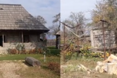 VAI ŞI AMAR! Casa în care a copilărit BRÂNCUŞI s-a prăbuşit: O RUINĂ cu buruieni