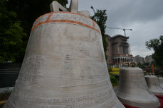 CLOPOTELE Catedralei Mântuirii Neamului se vor auzi DUMINICĂ. Puritatea aliajului de bronz asigură CALITATEA sunetului