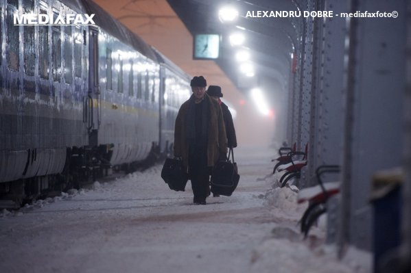 Trenuri oprite din cauza vremii