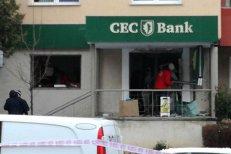 Bancomat ARUNCAT ÎN AER la Braşov. Hoţii au dispărut fără să fure nimic