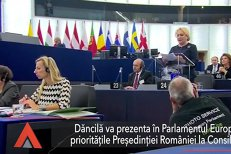 Dăncilă prezintă în Parlamentul European PRIORITĂŢILE Preşedinţiei României la Consiliul UE