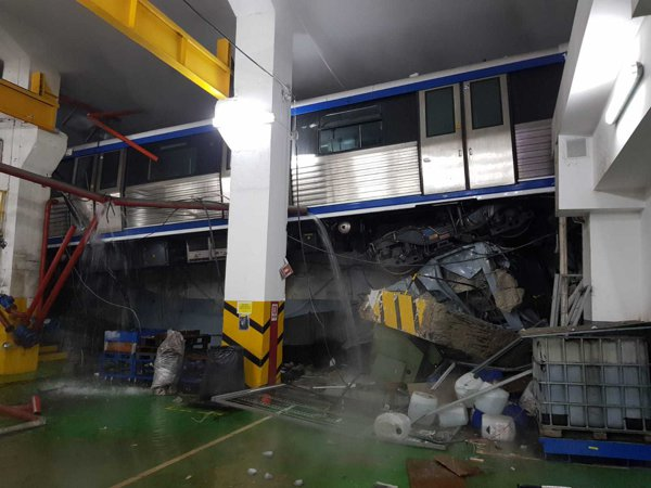 Incident GRAV la metrou