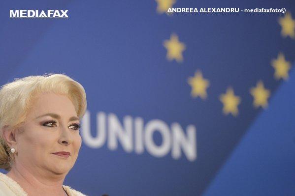 Dăncilă acuză Uniunea Europeană de STANDARDE DUBLE