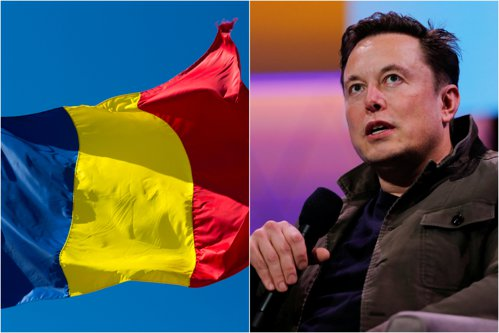 Elon Musk a descoperit că România şi Ciad au steaguri aproape identice: De ce nu vorbesc mai mulţi oameni despre asta? / Cererea controversată făcută de statul african la ONU