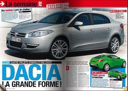 Dacia pregăteşte în secret noul Logan. Maşina va avea faruri cu LED-uri