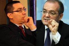 Cum îi sugerează Boc lui Ponta să stea mai bine cu piciorele în apă rece decât să amâne bugetul pe 2011 care îi lasă fără bani şi pe edilii PSD