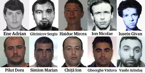 TOP 10 ASASINI PERICULOŞI ROMÂNI AFLAŢI ÎN LIBERTATE. Plus: ce crime au comis şi în ce ţări se ascund