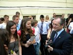 EVALUAREA NAŢIONALĂ 2011. Ce note a obţinut fiica premierului Emil Boc