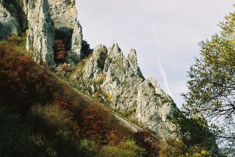 Drum roman din Munţii Apuseni, marcat turistic
