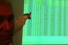 REZULTATE ALEGERI LOCALE 2012. EXCLUSIV: Imagini din sediul PDL. Adriean Videanu prezentând cum funcţionează numărătoarea paralelă a PDL