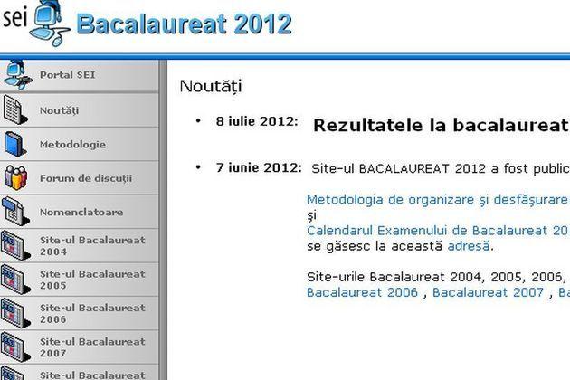 EDU.RO a publicat primele REZULTATE la BACALAUREAT 2012. Aici găsiţi LISTA cu LINK-urile pe JUDEŢE