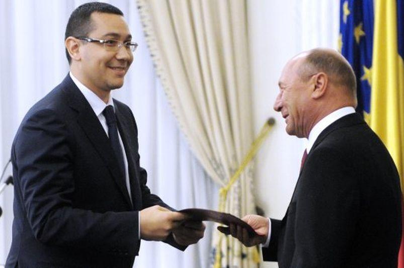 Traian Băsescu l-a desemnat oficial pe Victor Ponta premier