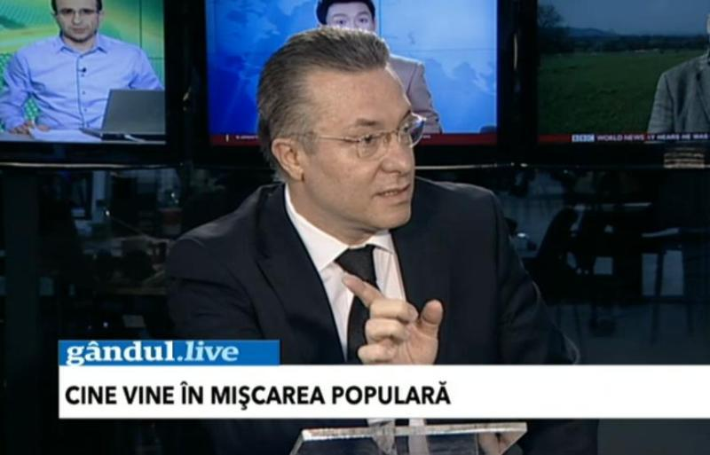 GÂNDUL LIVE. Ce spune Cristian Diaconescu despre intrarea Elenei Udrea în Mişcarea Populară