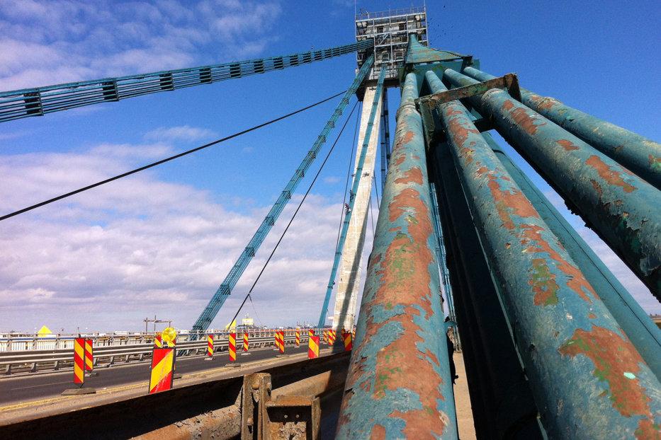 Soarta podului de la Agigea se stabileşte mâine. Ponta: