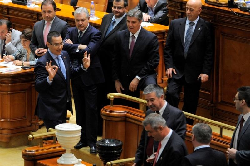 Cum a ajuns Ponta la putere. Gazele de şist, unul din capetele de acuzare în moţiunea de cenzură în urma căreia guvernul Ungureanu a fost demis în aprilie 2012