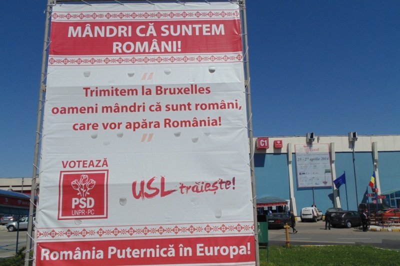USL A MURIT în 16 judeţe. PSD trebuie să retragă afişele şi bannerele cu mesajul