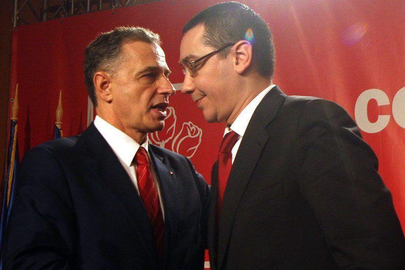 Geoana il trimite pe Ponta la judecata partidului pentru votul dat lui Antonescu in 2009