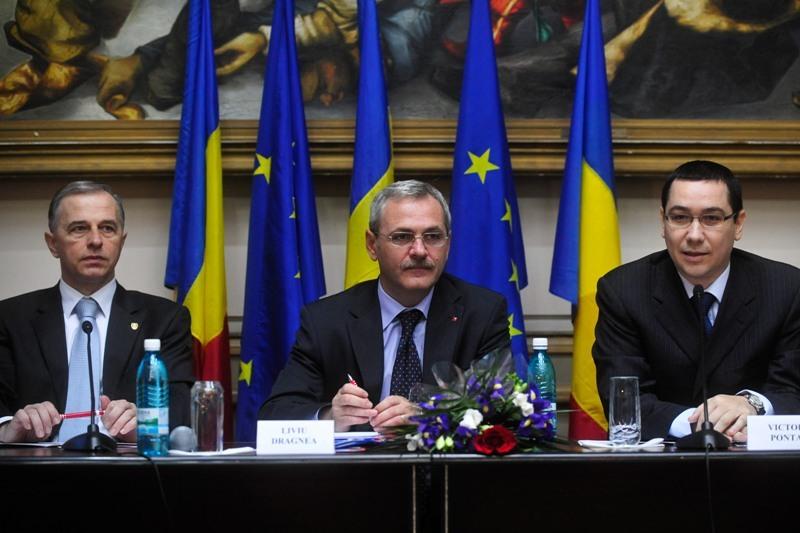 Dragnea blocheaza competitia Ponta - Geoana: ,,Cel mai mare risc ar fi ca acest partid sa se divizeze intr-o competitie interna