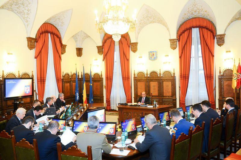 Basescu si Ponta, la prima sedinta CSAT dupa scandalul