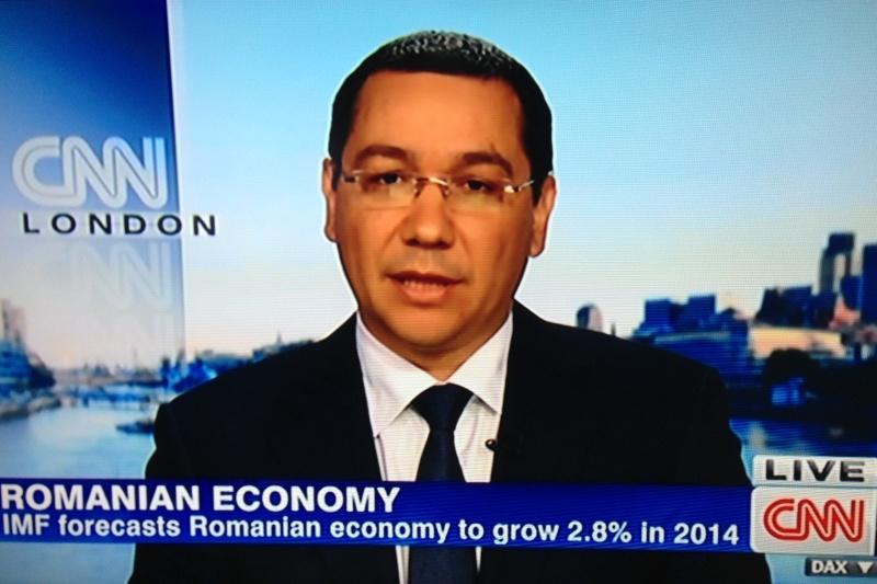 Victor Ponta a intrat in urma cu putin timp in direct la CNN si A ANUNTAT ASTA. O lume intreaga l-a auzit