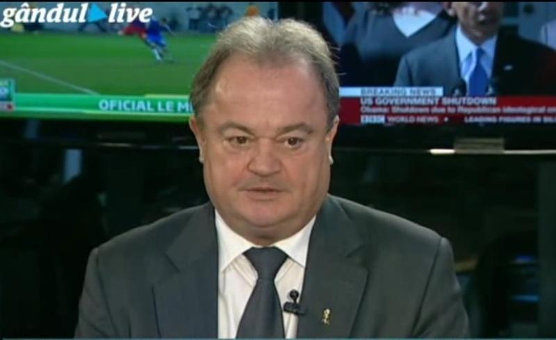 Vasile Blaga, la GANDUL LIVE: ,,PDL si PNL vor intra in alegeri intr-o alianta electorala. Uniunea Crestin-Liberala ar fi o denumire foarte buna